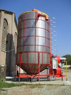 Мобильная зерносушилка серии XL