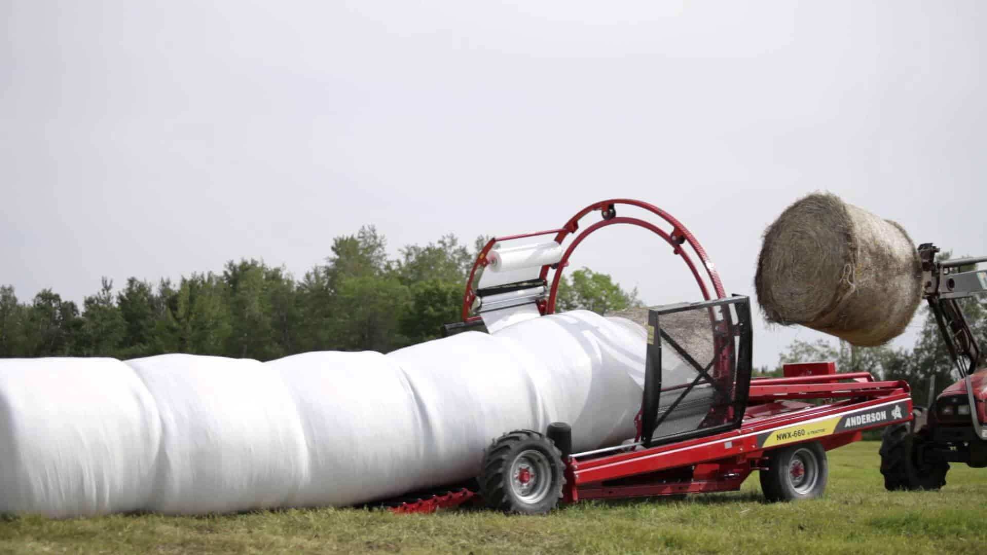 Агрострейч-пленка для упаковки и хранения сенажа