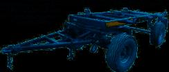 Шасси для тракторного прицепа 2ПТС-5 МордовАгроМаш
