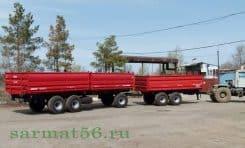 прицеп тракторный двухкузовной 3ПТС15