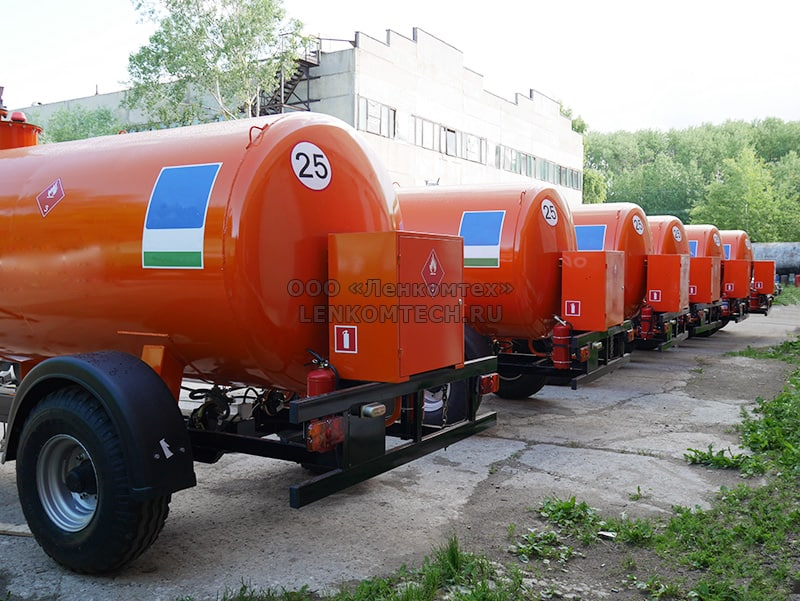 полуприцеп-цистерна ЛКТ-5ТЗ