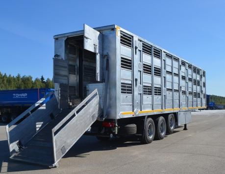 Скотовоз для перевозки в 3 яруса Тонар-9826-0000010