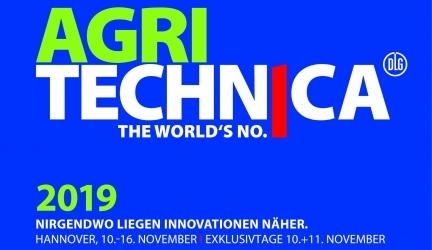 Выставка Agritechnica 2019 10–16 НОЯБРЯ 2019 г.