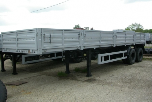 Бортовой полуприцеп 2-х осный СЗАП-9340 КАМАЗ