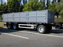 Бортовой прицеп 3-х осный СЗАП-8305 КАМАЗ