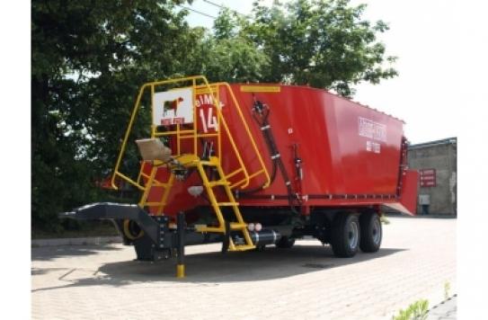 Миксер-кормораздатчик два шнека Т-659 14-21 куб.м.