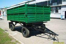 Прицеп самосвальный тракторный СЗАП-8521
