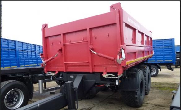 Прицеп самосвальный тракторный СЗАП-8582Т