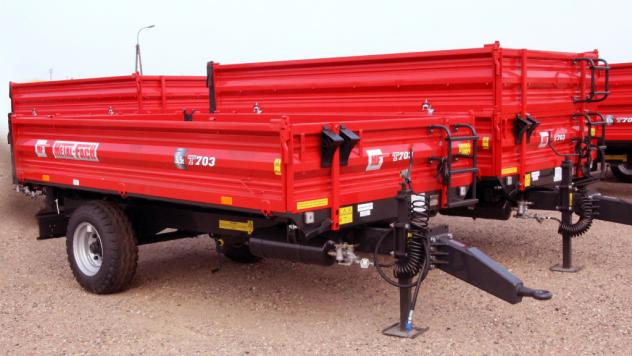 Прицеп T-703 Metal-Fach