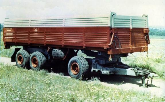 Прицеп тракторный полунавесной Сармат